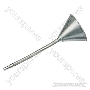 Flexible Steel Funnel - 150mm from Silverline