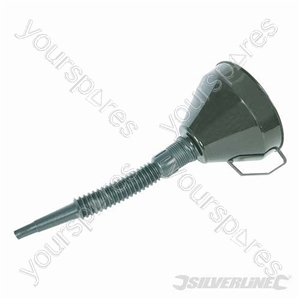 Plastic Funnel with Spout - 160mm from Silverline