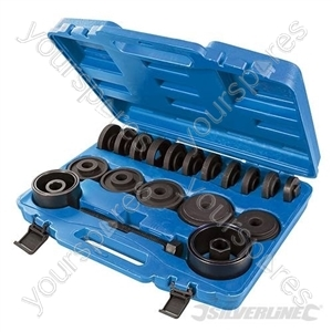Wheel Bearing Removal Kit 22pce - 22pce from Silverline