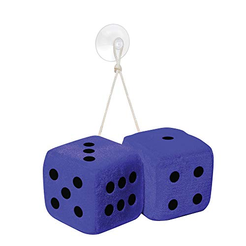Simoni Racing BD/B Microfibre Big Dices 10X10 cm - Blue Set/2 Pieces) from Simoni Racing