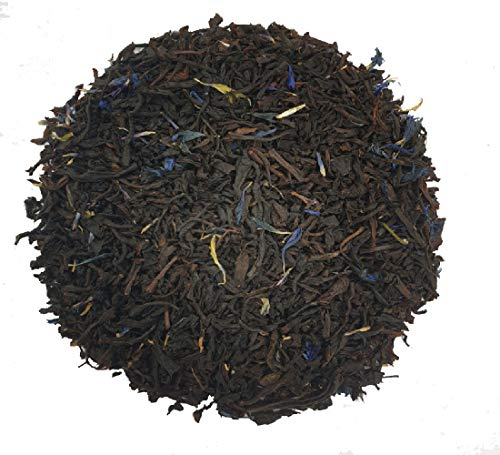 Supreme Earl Grey Black Loose Leaf Tea Smooth and Highly Aromatic by Simpli-Special for Hot or Iced Tea (20g in Resealable Pouch) from Simpli-Special