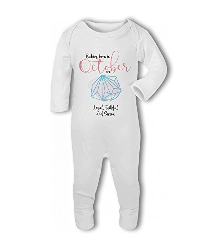 Babies Born in October - Baby Romper Suit from Simply Wallart