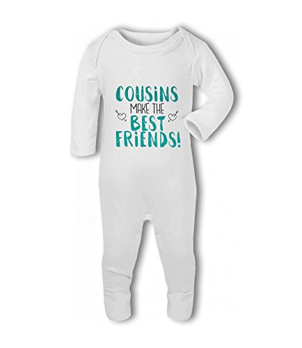 Cousins Make The Best Friends! - Baby Romper Suit from Simply Wallart