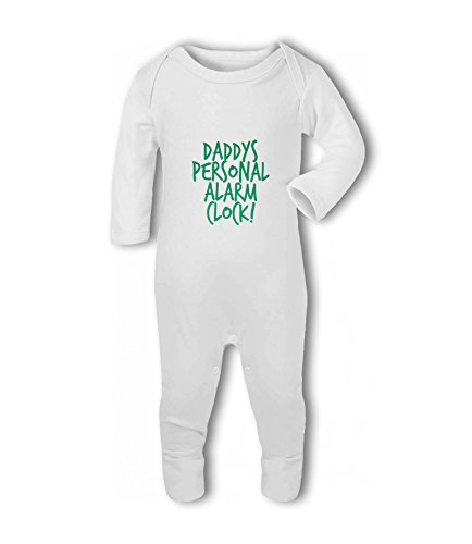 Daddys Personal Alarm Clock! - Baby Romper Suit from Simply Wallart