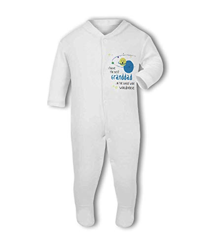 I Have The Best Granddad in The Whole Wide Worldiverse! - Baby Grow Suit from Simply Wallart