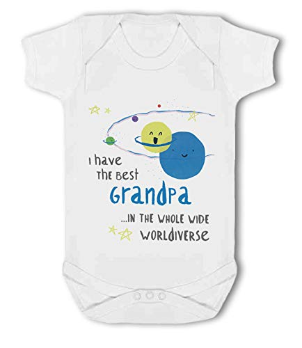 I Have The Best Grandpa in The Whole Wide Worldiverse! - Baby Vest from Simply Wallart
