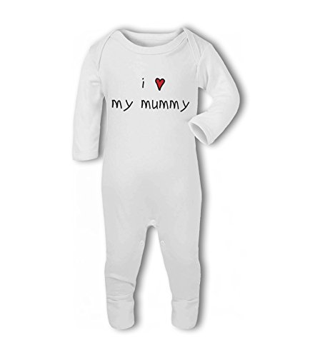 I Heart My Mummy - Baby Romper Suit from Simply Wallart