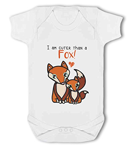 I am Cuter Than a Fox! - Baby Vest from Simply Wallart