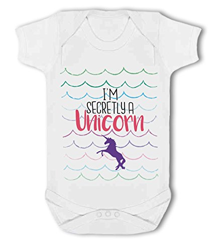 I'm Secretly a Unicorn - Baby Vest from Simply Wallart