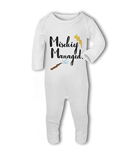 Mischief Managed.- Baby Romper Suit from Simply Wallart
