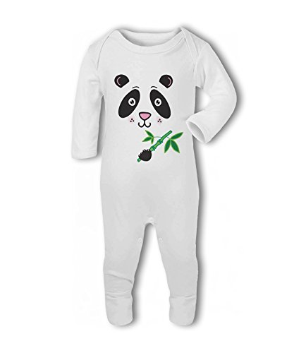 Panda Face - Baby Romper Suit from Simply Wallart