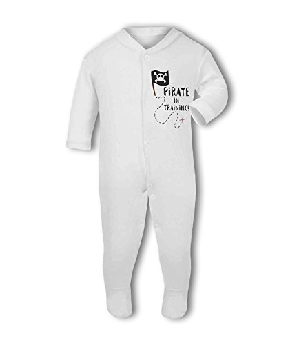 Pirate in Training! - Baby Grow Suit from Simply Wallart