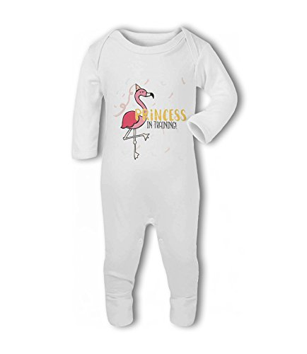 Princess in Training! Flamingo - Baby Romper Suit from Simply Wallart