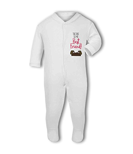 The Dog is My Best Friend! - Baby Grow Suit from Simply Wallart