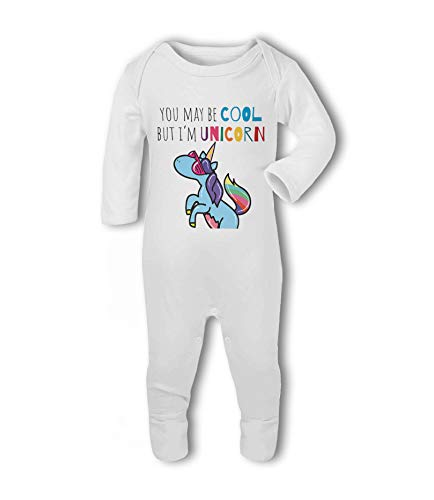 You May be Cool but I'm Unicorn - Baby Romper Suit from Simply Wallart