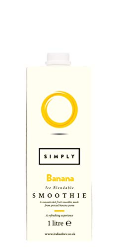 Simply Banana Smoothie 1 L (Pack of 2) from Simply