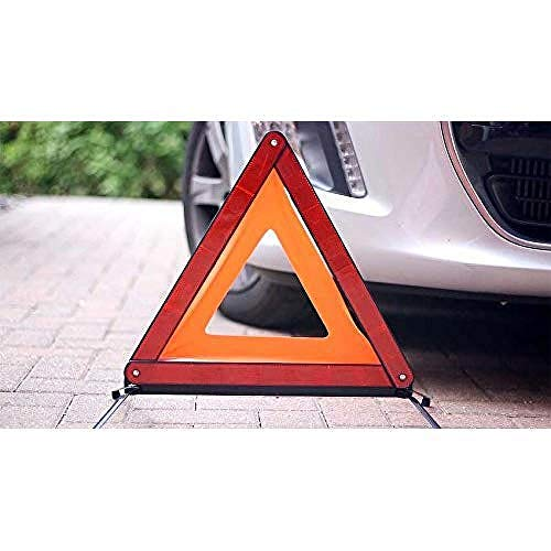 Simply SWT1Foldable Warning Triangle, Complied with ECE R27 European Standards, Convenient Carry Box, Highly reflective Design Clearly Alert from Simply