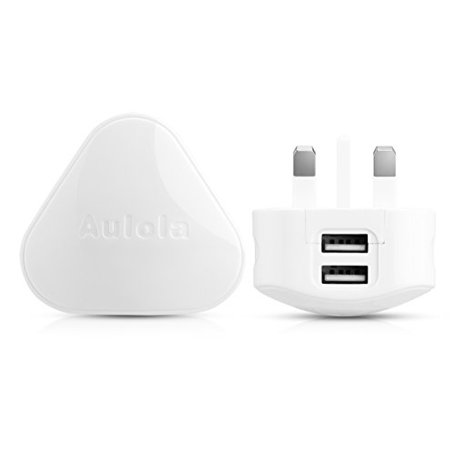 Dual USB Mains Charger,UK USB Charging Plug for Android tablets iPad 1st 2nd 3rd 4th Mini Air iPods Samsung / Lenovo / Sony / ASUS iPhone 4/4S 5/5S 6 Samsung S3 S4 S5 Note 3 / Nokia / Motorola / HTC / BlackBerry / LG MP4/3 Players iPods from Sinbury