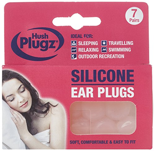 Hush Plugz Silicone Earplugs x 3 packs from Single Use Instruments Ltd