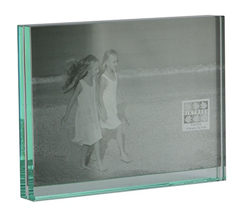 Level Heavy Glass Photo Frame 7 x 5inch from Sixtrees