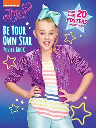 Be Your Own Star Poster Book (Jojo Siwa) from Buzzpop