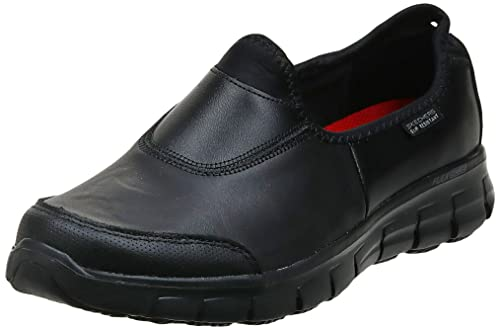 Skechers Women's Sure Track Safety Shoes, Black (BBK), 4 UK 37 EU from Skechers