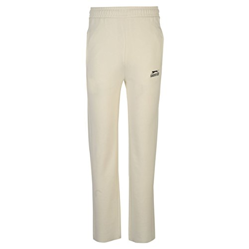 Slazenger Kids Cricket Trousers Pants Bottoms Junior Boys Elasticated Waist White 11-12 (LB) from Slazenger