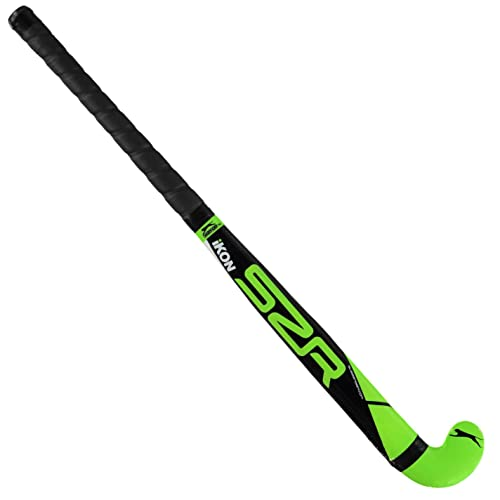 Slazenger Kids Ikon Hockey Stick Juniors Players Equipment Training Sports Multi 34 Inch from Slazenger