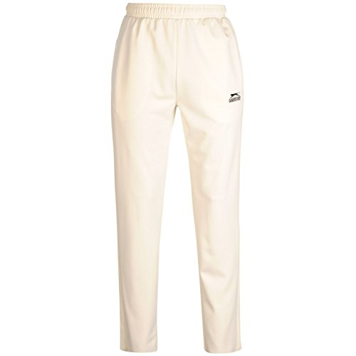 CRICKET TROUSER WHITE WITH NEW ZEALAND LOGO LARGE MENS 36-38 INCH