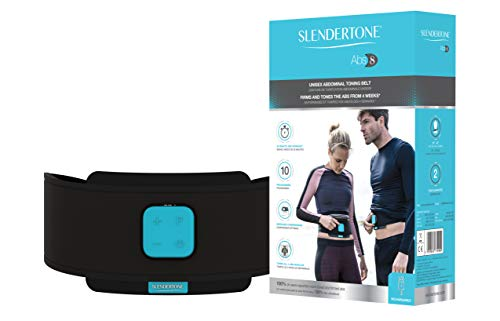 Slendertone Unisex's Abs8 Muscle Stimulation Belt, Black, 24 to 42 inches from Slendertone