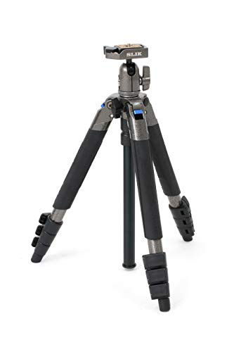 Slik Sprint Mini III Tripod with Ball and Socket Head - Grey Metallic from Slik