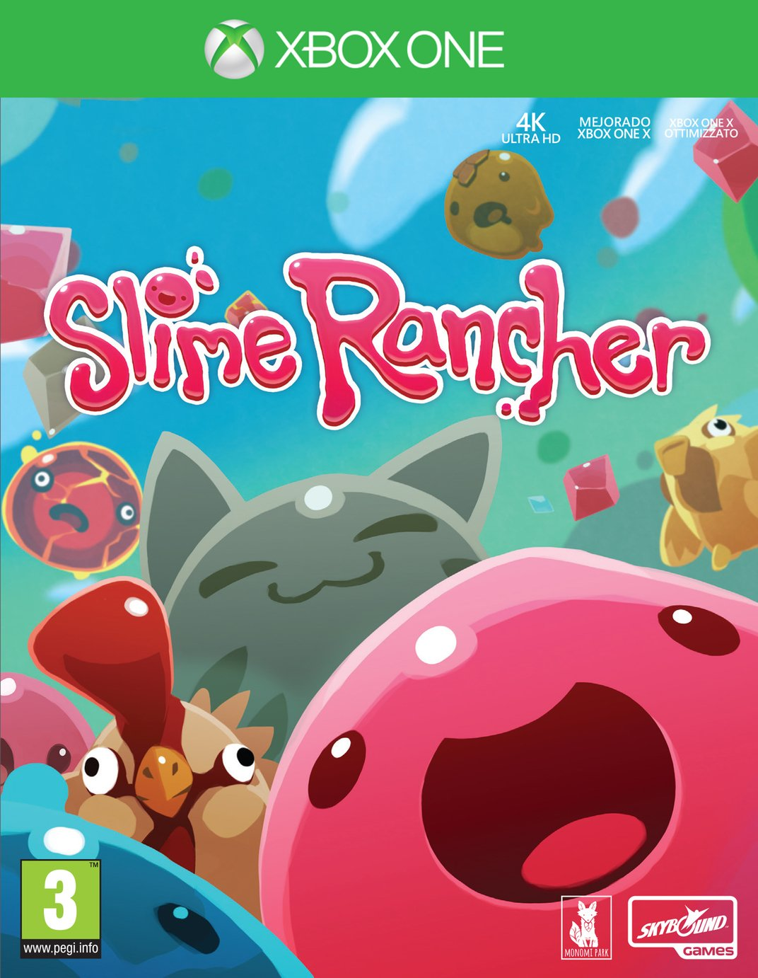 Slime Rancher Xbox One Game from Slime Rancher