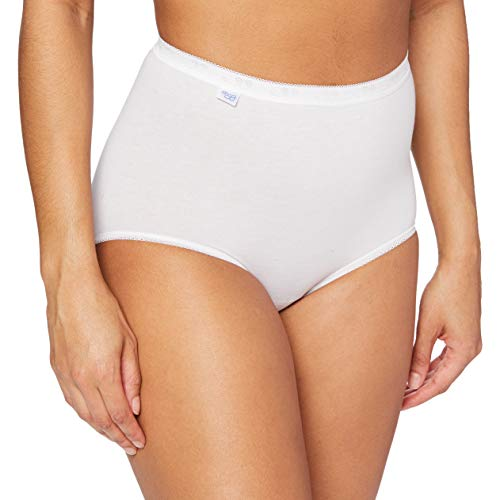 Sloggi Women's Sloggi Basic Maxi Brief, White, 18 (Manufacturer Size: 46) from Sloggi
