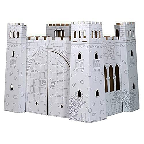 Small Foot 10017 Castle Cardboard House from Small Foot