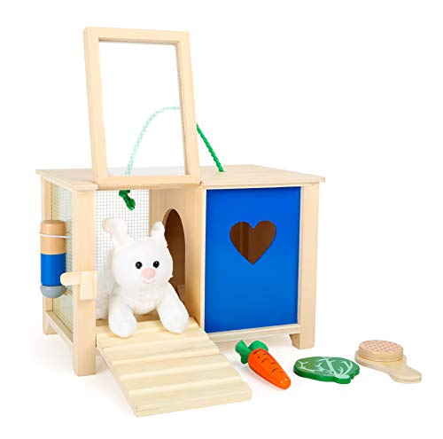 Toy Rabbit Hutch from Small Foot