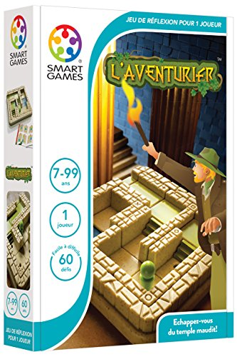 Smartgames - SG 437 FR - The Adventurer - Thinking Game Of Logic And Anticipation from smart games