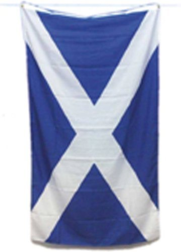 SCOTLAND FLAG   SCOTTISH FLAG  5X3 FT  153CM X 92CM from Smiffy's