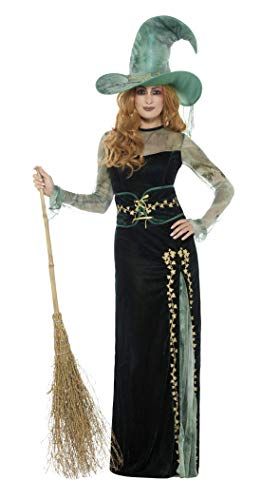 Smiffys 45111S Deluxe Emerald Witch Costume (Small) from Smiffys