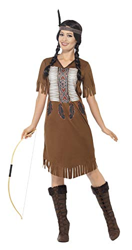 Smiffys Native American Inspired Warrior Princess Costume from Smiffys