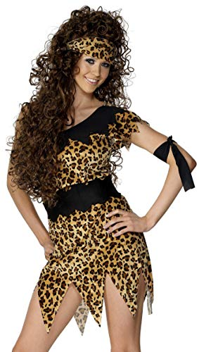 Smiffys Women's Cavewoman Costume, Brown, X-Large from Smiffys