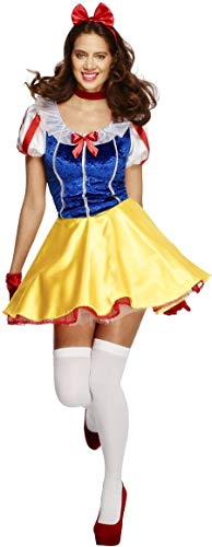 7f203d1bd0 Fever Adult Women's Fairytale Costume, Dress Attached Underskirt, Headband  and Choker, Once Upon