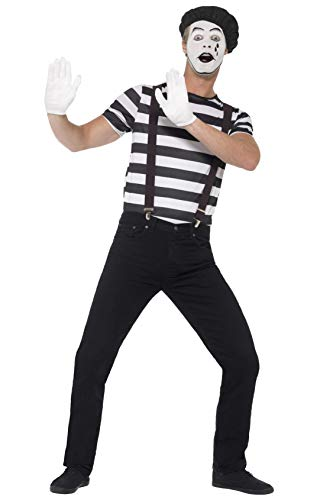 Smiffys Gentleman Mime Artist Costume from Smiffys