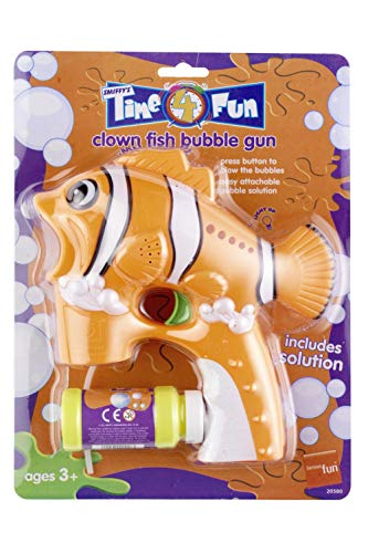 Smiffys Clown Fish Bubble Gun with Bubble Pot from SMIFE