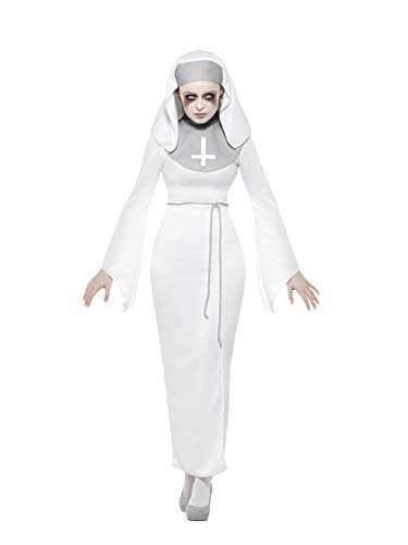 Smiffys Haunted Asylum Nun Costume from Smiffys