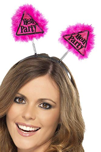 Smiffys Hen Party Warning Boppers - Pink from Smiffy's