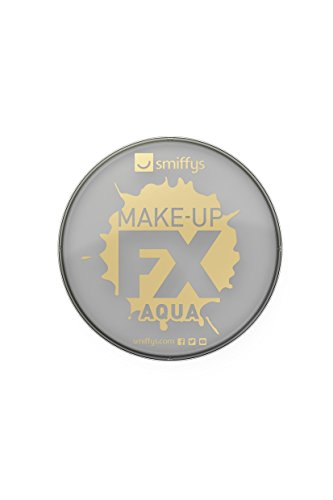 Smiffys Make-Up FX Auqa Based Face and Body Paint, 16 ml - Lime Grey from Smiffys