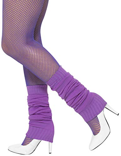 Smiffy's Unisex 1980's Legwarmers (Purple) from Smiffy's