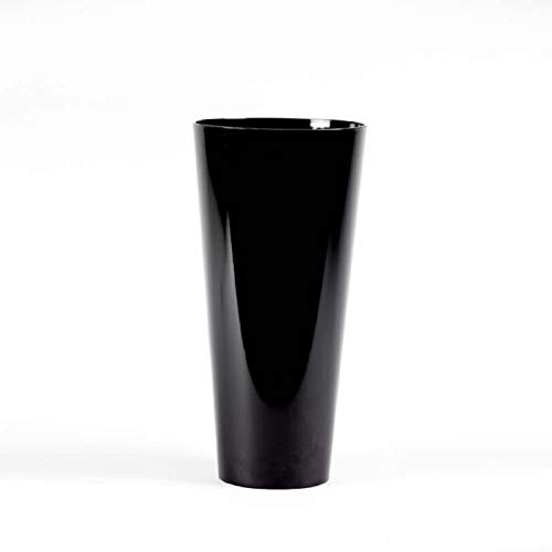 Conical Acrylic Plastic Vase 35cm Height (Black) from Smithers Oasis