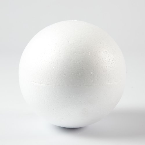 Craftmill 120mm / 12cm Polystyrene Balls, Spheres - Box of (20) from Smithers Oasis
