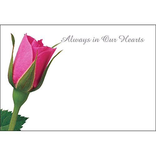 Funeral & in Loving Memory Floristry Message Cards Flowers and Floral Tributes (Always in Our Hearts) from Smithers Oasis